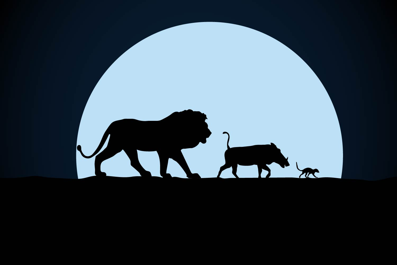 lion king, movie, dog, film