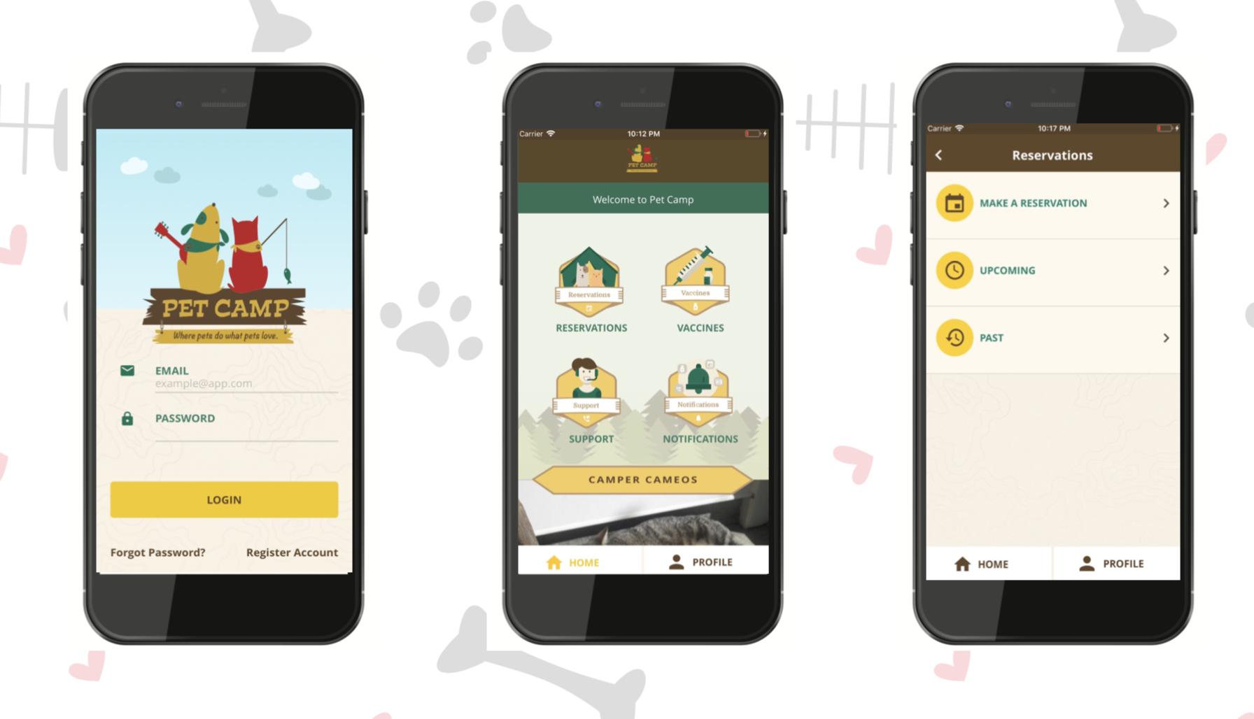 pet camp app